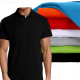 100% Cotton and Soft  Plain Polo Shirts for Men